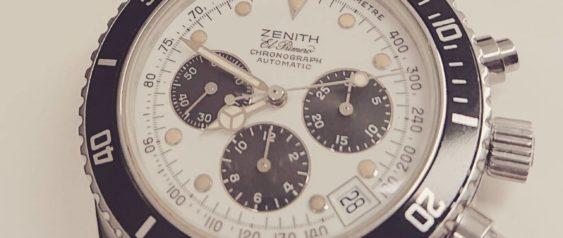 【ZENITH  エルプリメロ 】 オーバーホール・分解掃除