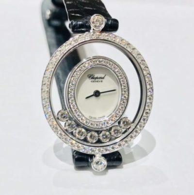 【ショパール ハッピーダイヤモンド】時計修理、分解掃除・オーバーホール