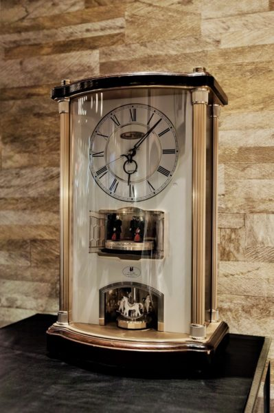■「RHYTHM 置時計 時計修理」