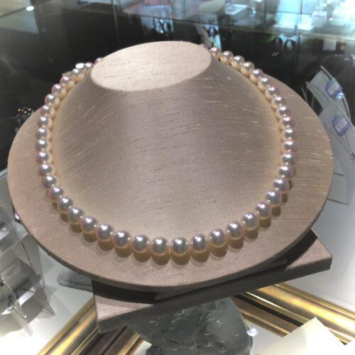■西宮店「真珠の糸替え」